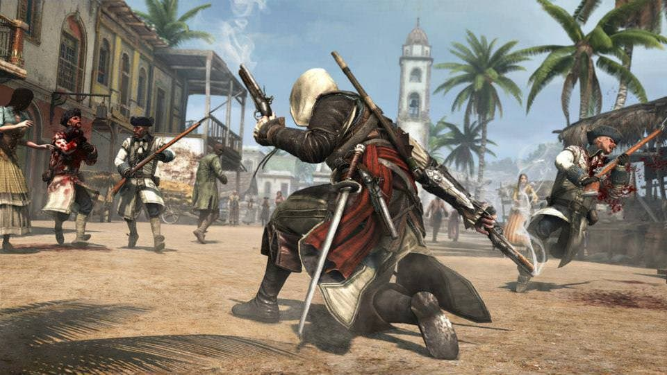 Nuevo gameplay de 10 minutos de 'Assassin's Creed IV'