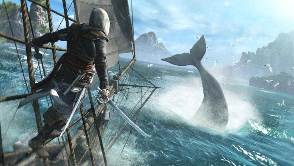 Primer gameplay de 'Assassin's Creed 4 Black Flag'