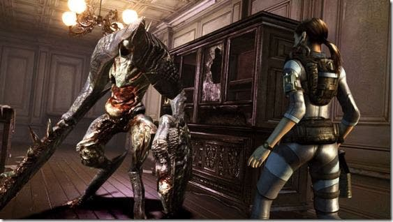 'Resident Evil Revelations: Unveiled Edition', Gameplay de Rachel