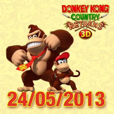 Anunciada la fecha de 'Donkey Kong Country Returns 3D'