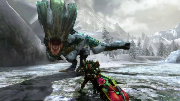 Los monstruos de 'Monster Hunter 3 Ultimate' hoy, Barroth Jade