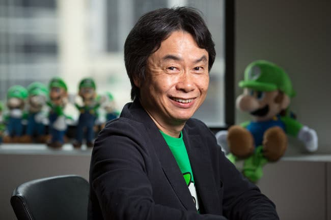 Miyamoto habla sobre temas varios para el New York Times