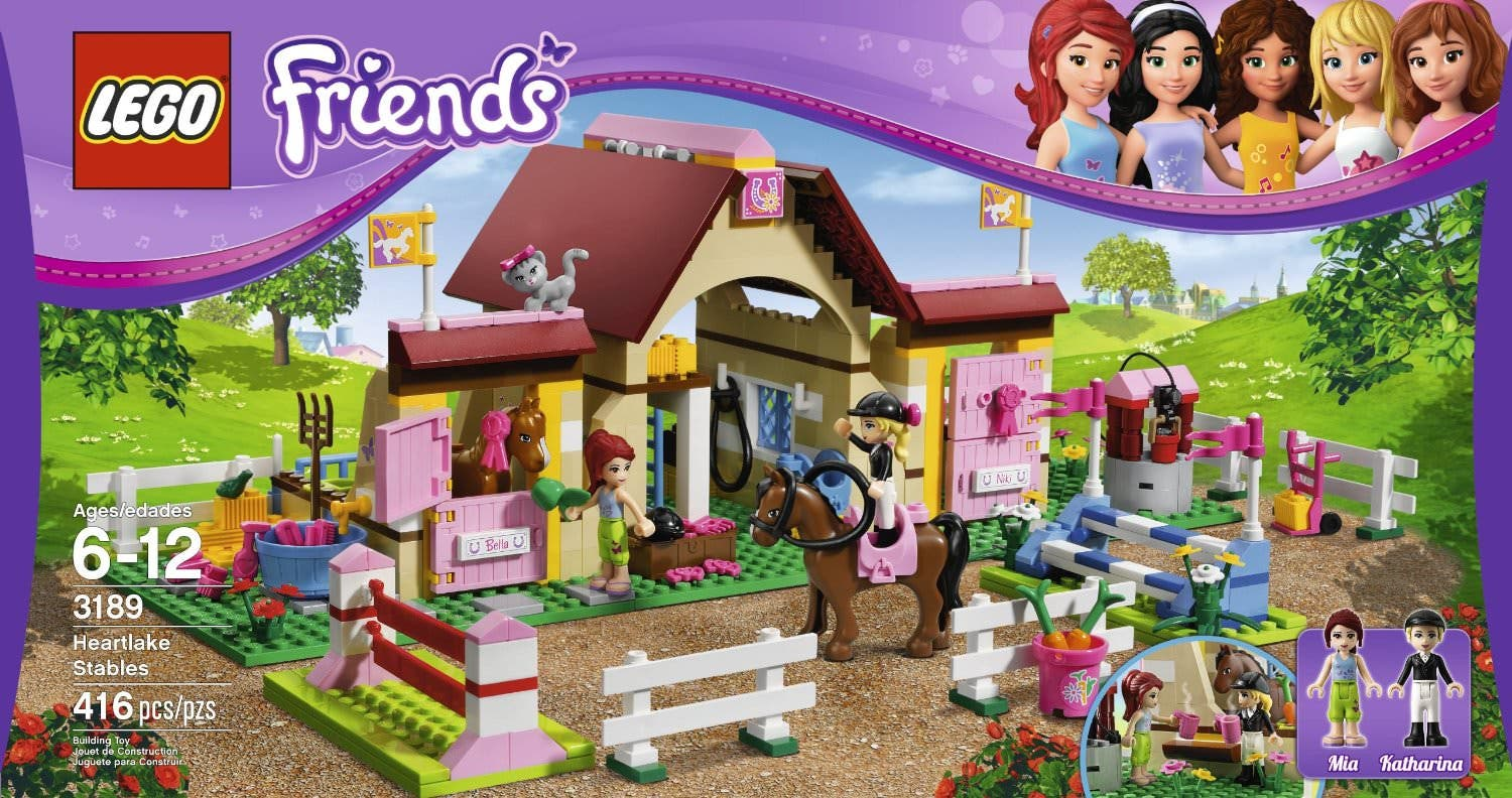 [Rumor] 'Lego Friends' llegará a Nintendo 3DS