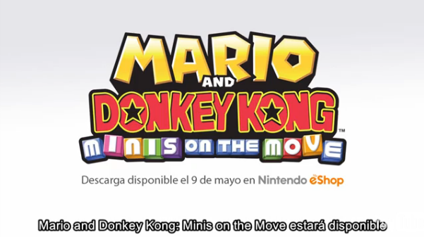 'Mario and Donkey Kong: Minis on the Move' ya tiene fecha de lanzamiento