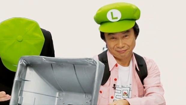 Miyamoto despide oficialmente el 'Año de Luigi' por Miiverse