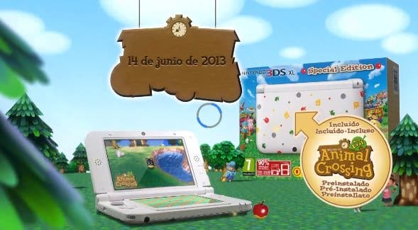 Confirmada la fecha y edición especial de 'Animal Crossing: New Leaf'