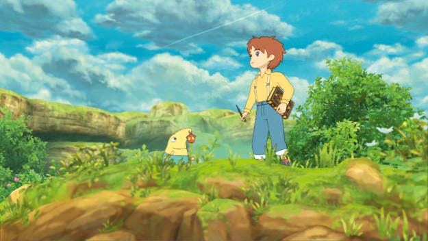 'Ni No Kuni: Wrath Of The White Witch'  podría llegar a Nintendo 3DS