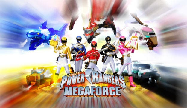 'Power Rangers Megaforce' anunciado para Nintendo 3DS