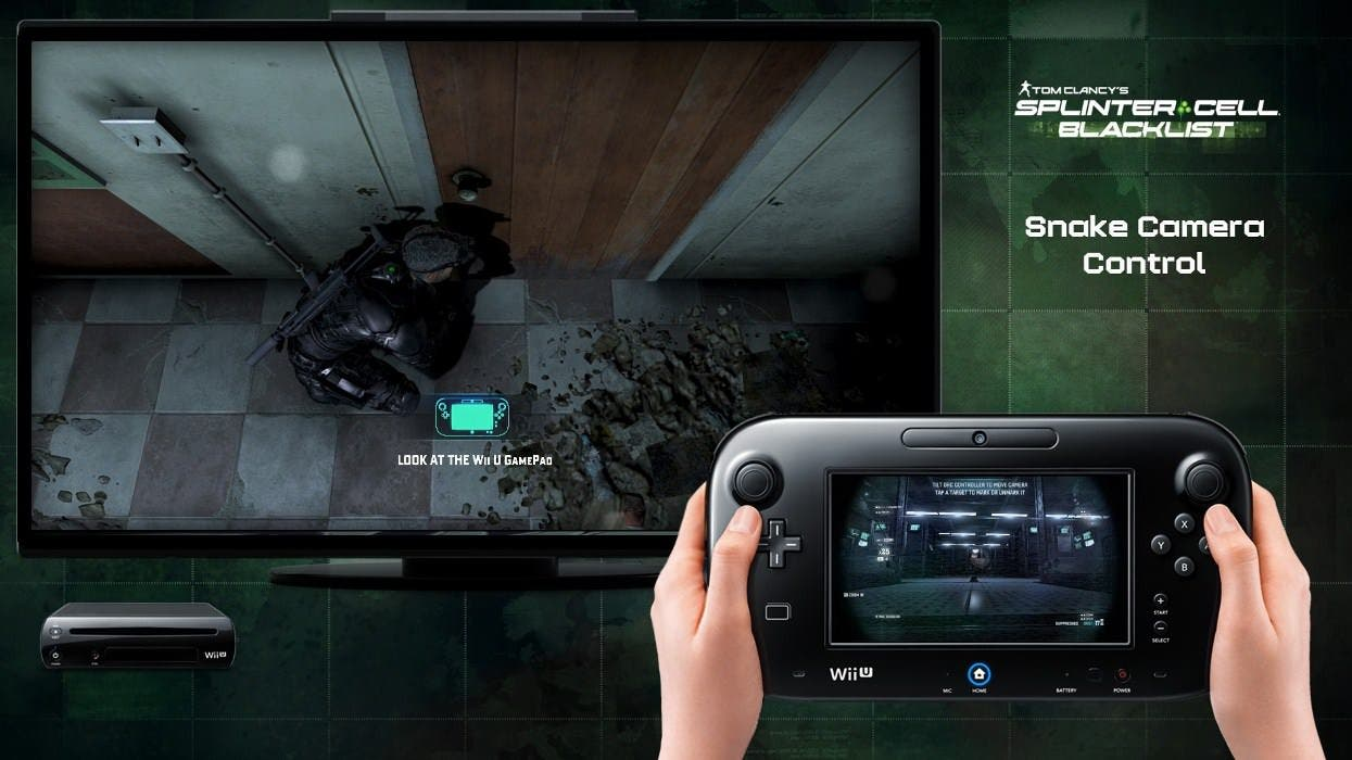 Transformation Tráiler de 'Splinter Cell: Blacklist' para Wii U