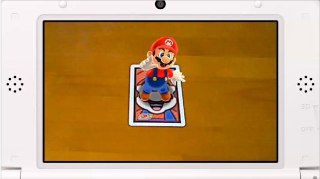 Detalles de la aplicación 'Foto Isshoni' de las nuevas tarjetas AR de Super Mario