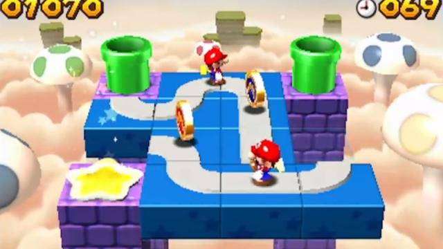 Así funciona el editor de niveles de 'Mario and Donkey Kong: Minis on the Move'