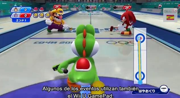 Nuevos vídeos de 'Mario & Sonic en los Juegos Olímpicos de Invierno Sochi 2014'