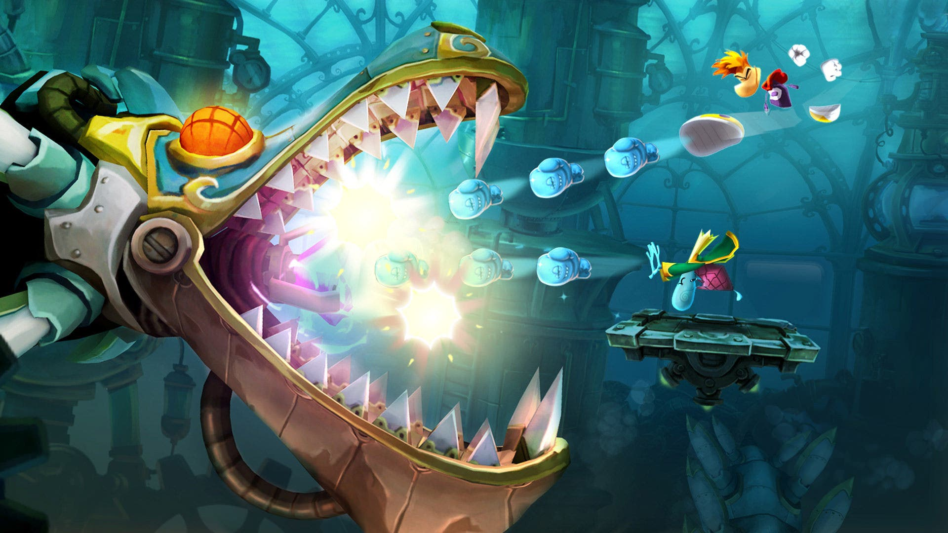 Vídeo comparativo de 'Rayman Legends' Wii U vs. Xbox 360