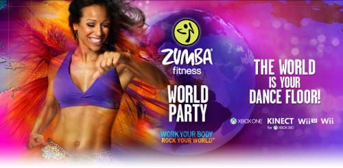 Anunciado 'Zumba Fitness World Party' para Wii y Wii U