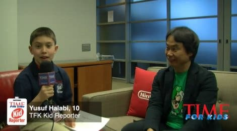 Entrevista de Miyamoto para 'Time for Kids'
