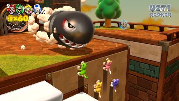 [E3 2013] 'Super Mario 3D World' usará el movimiento de 8 vías