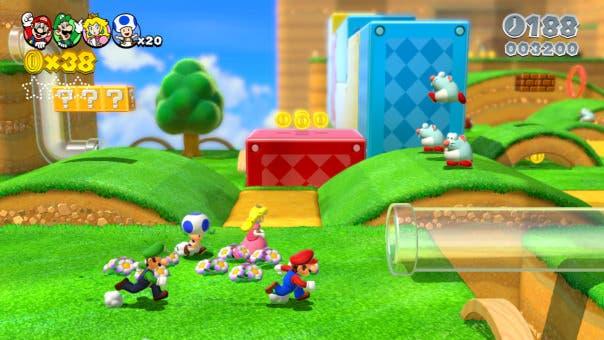 Edge dice que 'Super Mario 3D World' posiblemente fue pensado para 3DS