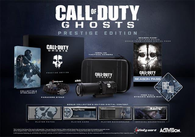 Las ediciones de coleccionista de 'Call of Duty: Ghosts' no están planeadas para Wii U