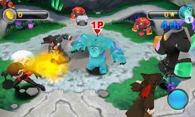 Nuevas capturas y detalles de 'Disney Infinity: Toy Box Challenge' para 3DS
