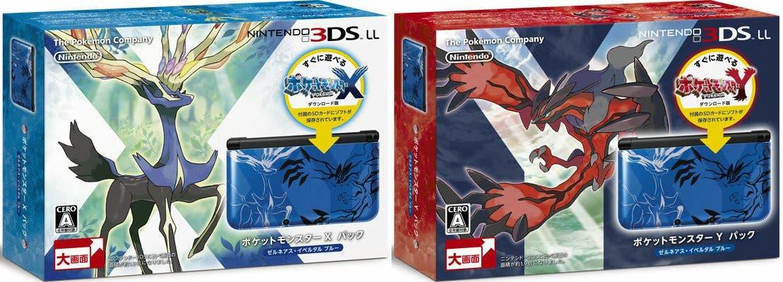 Mostrados los packs de 3DS XL con Pokemon X y Pokemon Y