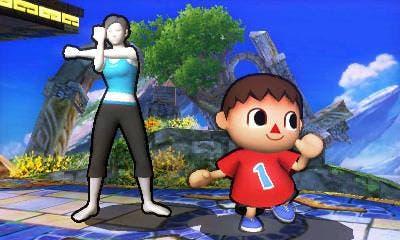 Los contornos de los personajes en 'Super Smash Bros. para 3DS' podrán ser cambiados o eliminados