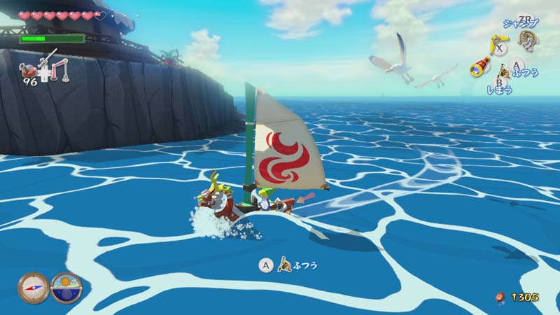 Revelados detalles sobre la navegación en 'The Legend of Zelda: Wind Waker HD'