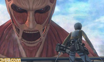Imágenes de 'Attack On Titan: The Last Wings Of Humanity Chain' para Nintendo 3DS