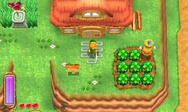 'The Legend of Zelda: A Link Between Worlds' usará la función StreetPass