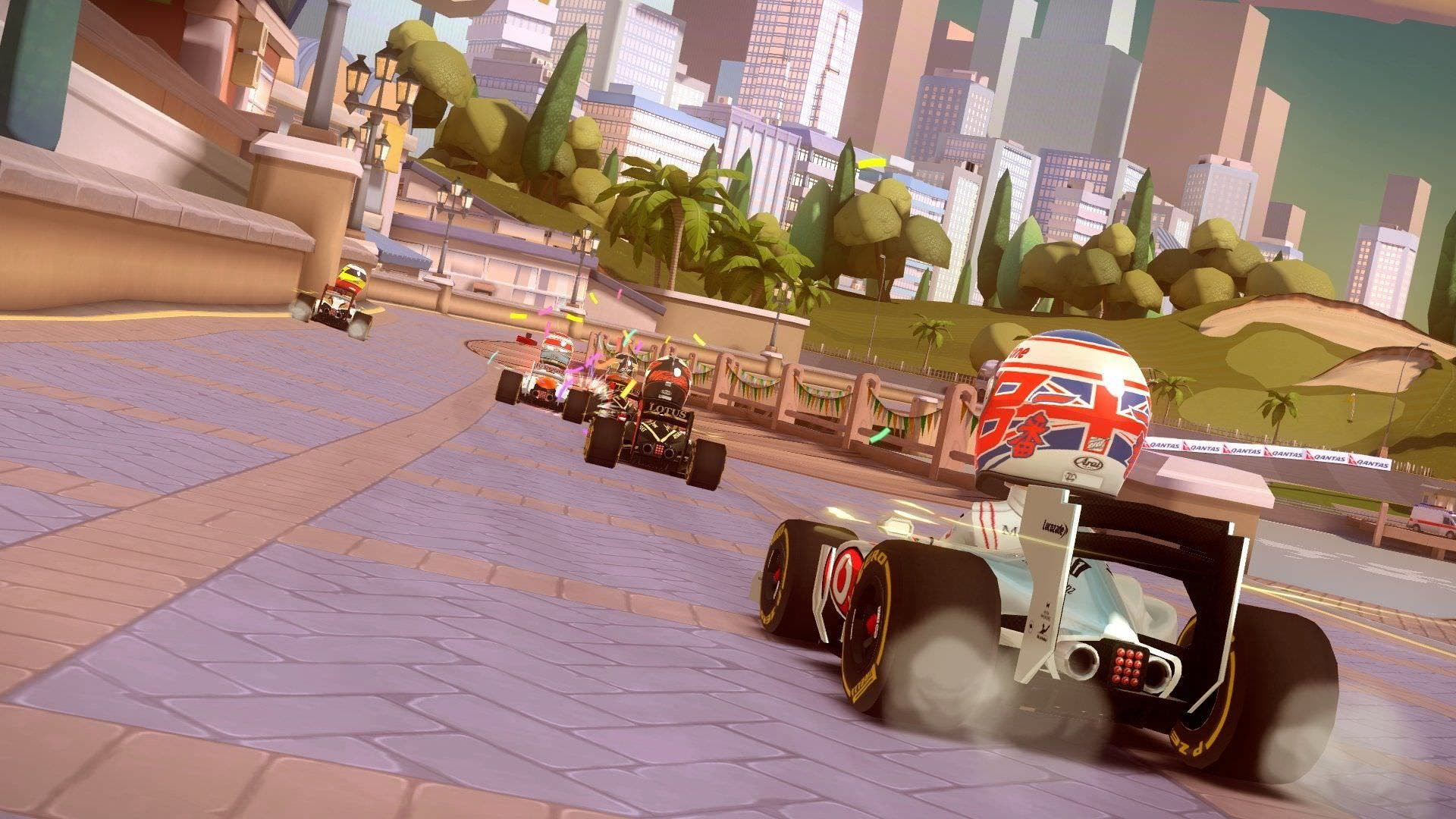 'F1 Race Stars: Powered Up Edition' llega a Wii U