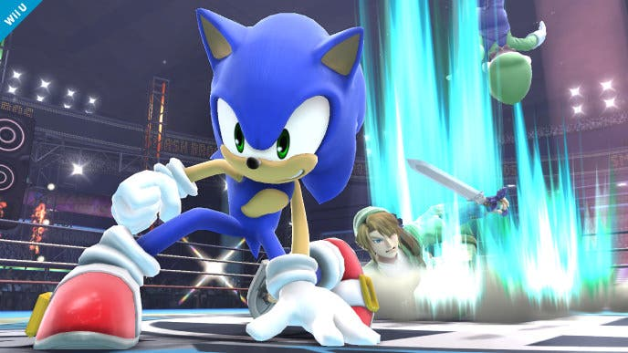 Sonic estará finalmente en 'Super Smash Bros for Wii U/3DS'
