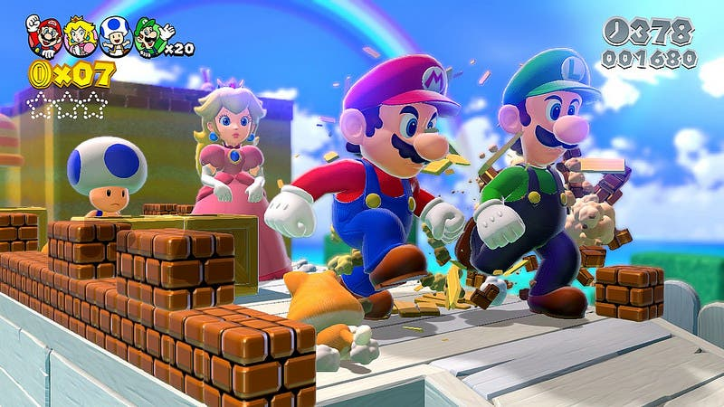 Sitio oficial, comerciales y power-up's japoneses de 'Super Mario 3D World'