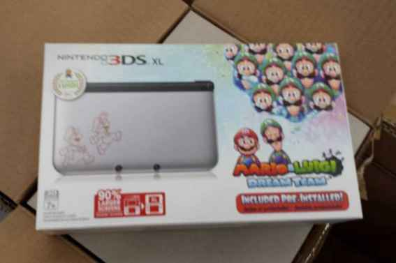 Anuncio de Target confirma 3DS XL edición 'Mario & Luigi: Dream Team'