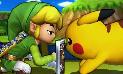 Nuevos scans de 'Super Smash Bros. 3DS'