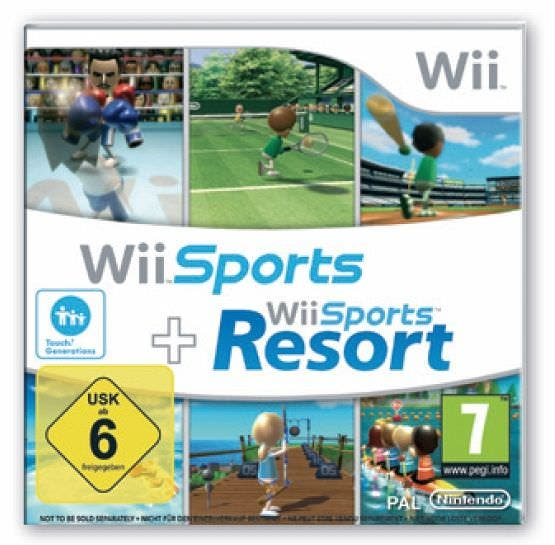 [Concurso] Ganadores del sorteo de 6 packs 'Wii Sports + Wii Sports Resort'