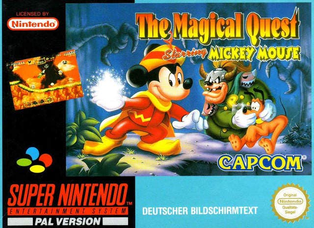[Retroanálisis] The Magical Quest Starring Mickey Mouse
