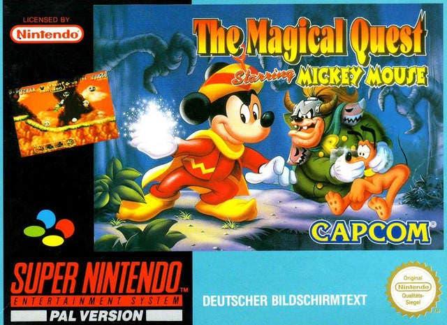 Magical Quest SNES