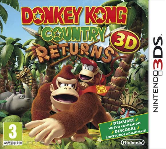 [Análisis] 'Donkey Kong Country Returns 3D'