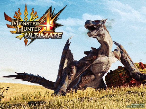 Disponible para América el tema gratuito de 'Monster Hunter 4 Ultimate' para el menú Home