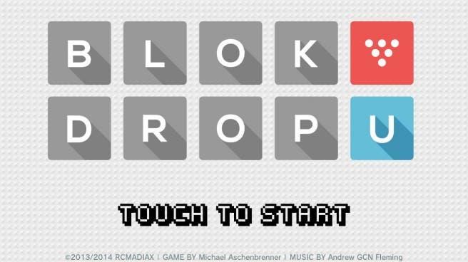 'Block Drop U' ya tiene fecha de lanzamiento y usará el sistema HTML5