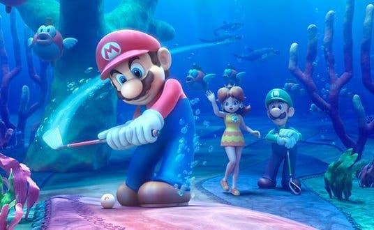 Nuevo tráiler de 'Mario Golf: World Tour': «Buceando en el Lago Cheep Cheep»