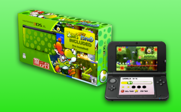 [Rumor] Posible pack de 3DS XL con 'Yoshi's New Island'