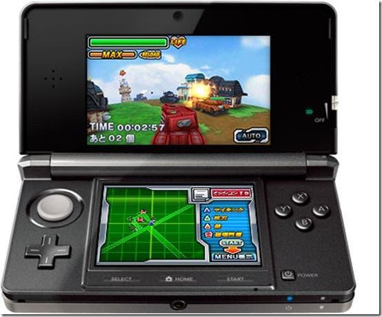 'Tanks 3D' llegará en unos días a la eShop de 3DS