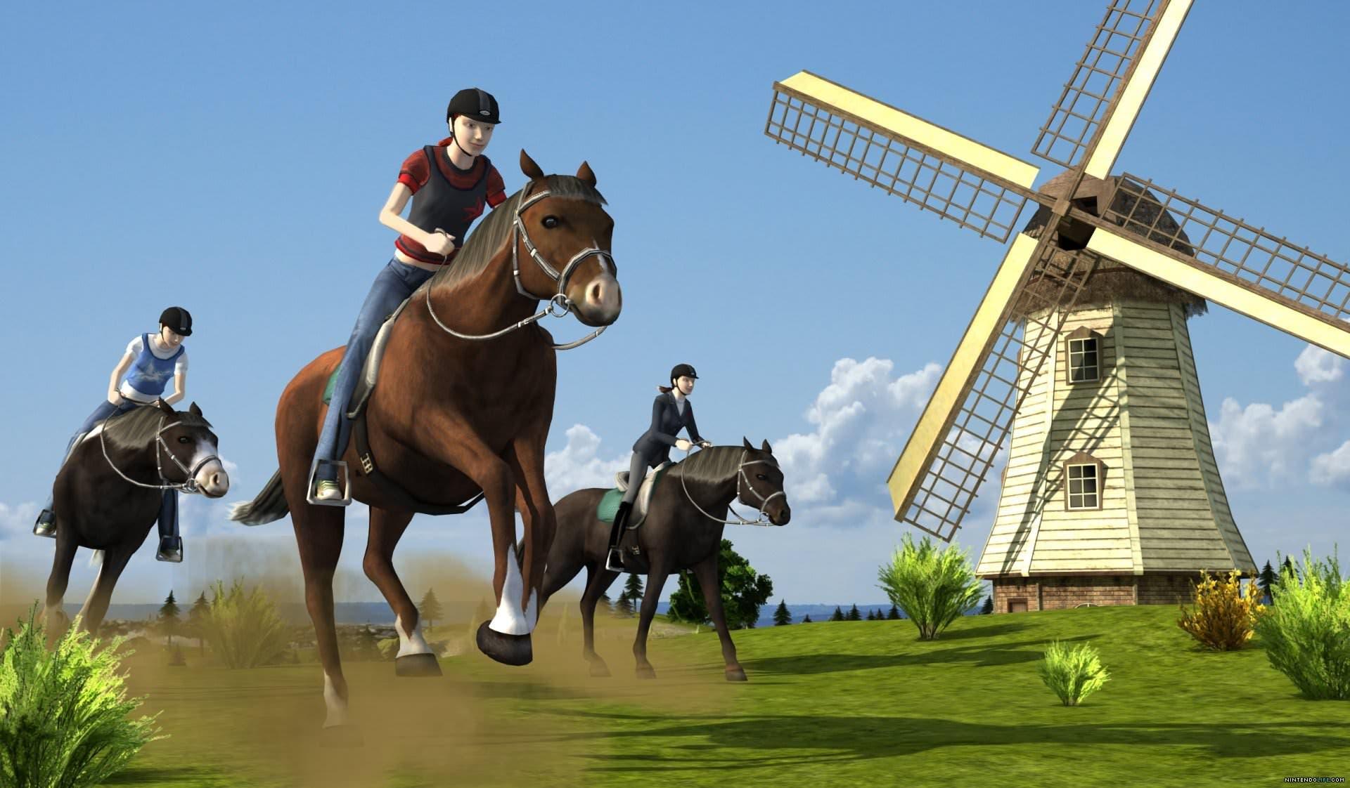 [Análisis] 'Mi granja de caballos 3D' para 3DS
