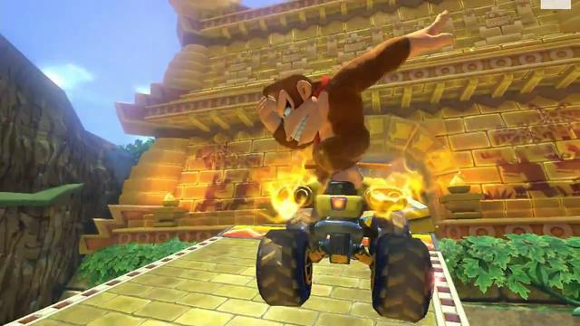Gameplay 'Mario Kart 8' - Jungla DK - Wii U vs. 3DS - Nintenderos.com - Nintendo Switch, 3DS, Wii U