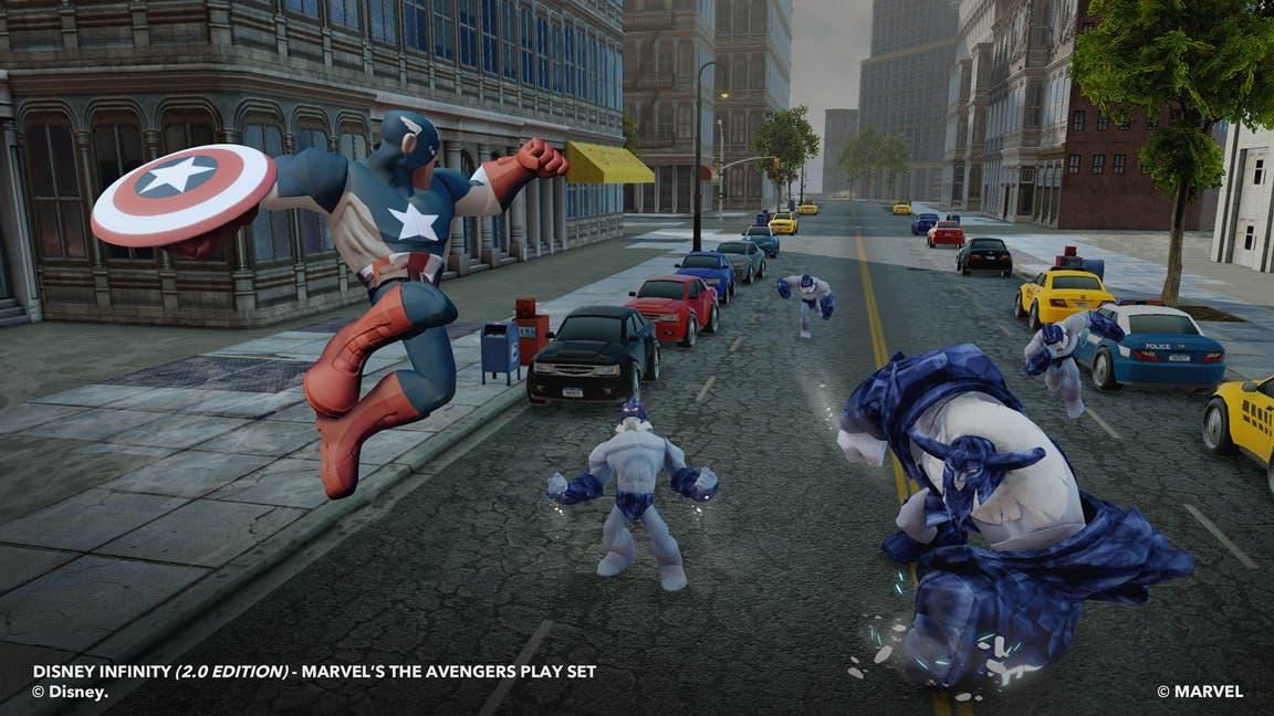 Nuevos detalles sobre 'Disney Infinity: Marvel Super Heroes'