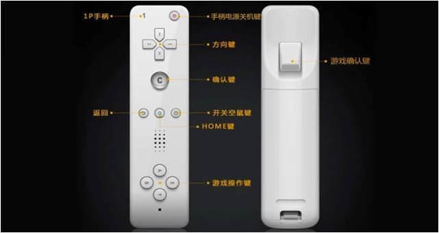 Una nueva consola china incluye un plagio del mando de Wii