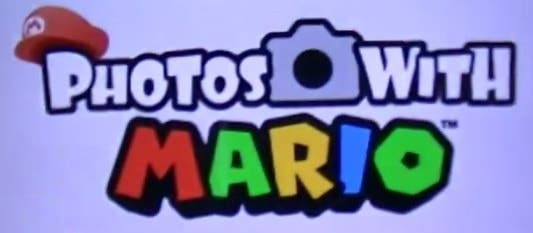'Photos with Mario' disponible de forma gratuita en Norteamérica
