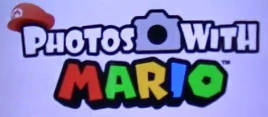 'Photos with Mario' disponible de forma gratuita en Norteamérica