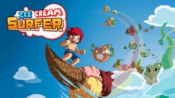 'Ice Cream Surfer' de Dolores Entertainment llegará a la eShop de Wii U
