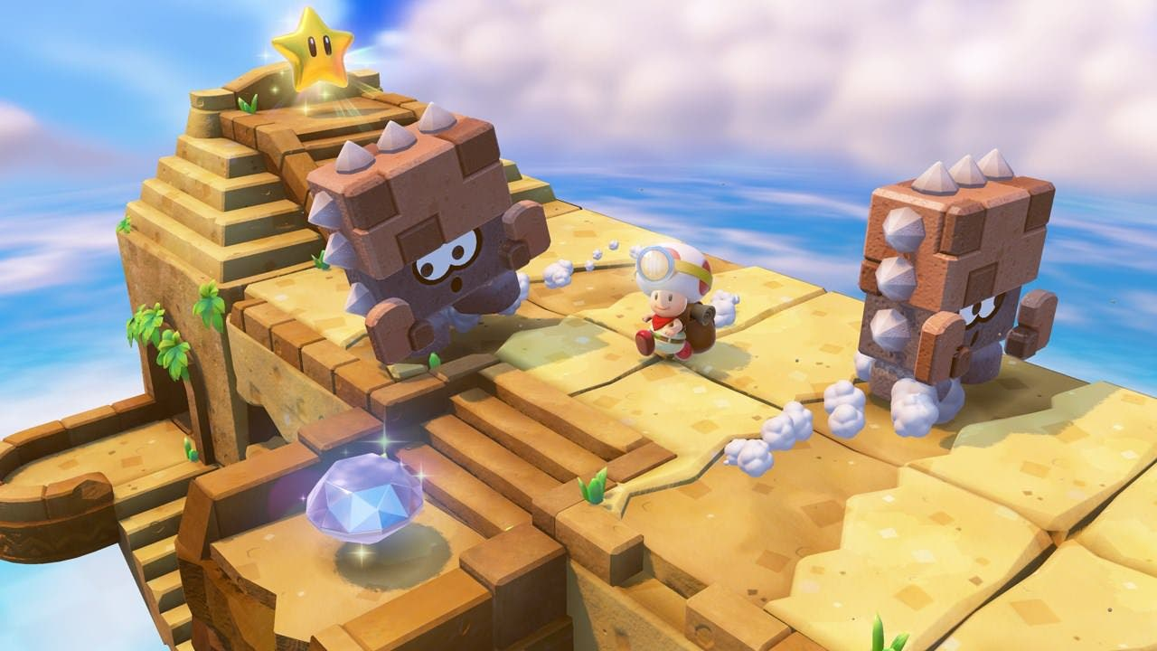 Impresiones de 'Captain Toad: Treasure Tracker' y gameplay